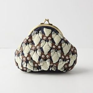 Anthropologie Great and Small Coin Purse in Owl